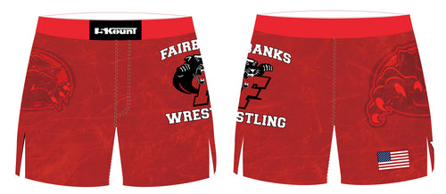 Fairbanks HS Wrestling Sublimated Board Shorts