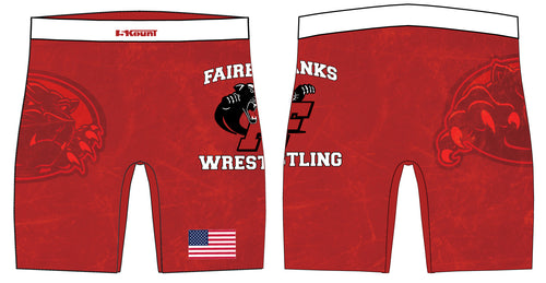 Fairbanks HS Wrestling Sublimated Compression Shorts
