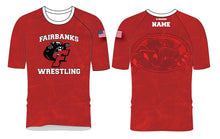 Fairbanks HS Wrestling Sublimated Fight Shirt