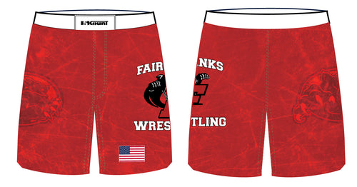 Fairbanks HS Wrestling Sublimated Fight Shorts