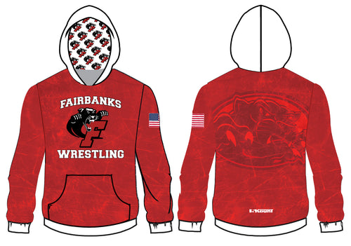 Fairbanks HS Wrestling Sublimated Hoodie