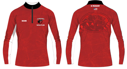 Fairbanks HS Wrestling Sublimated Quarter Zip