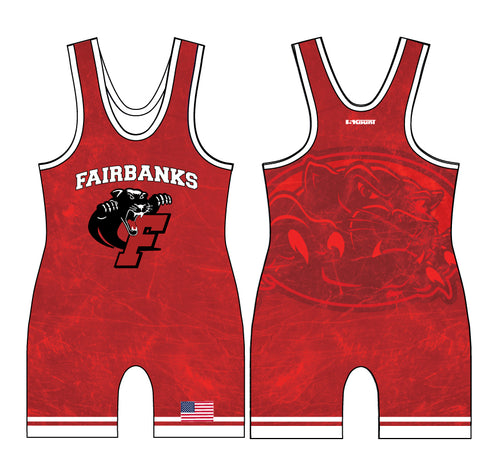 Fairbanks HS Wrestling Sublimated Singlet