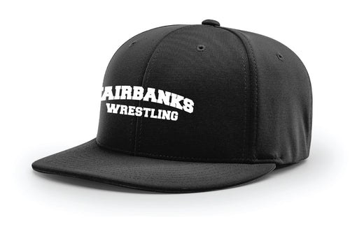Fairbanks HS Wrestling FlexFit Cap - Black