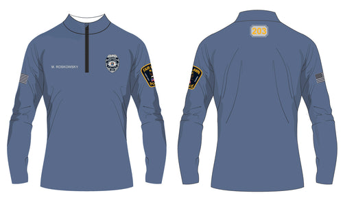 Fair Lawn Police Sublimated Quarter Zip