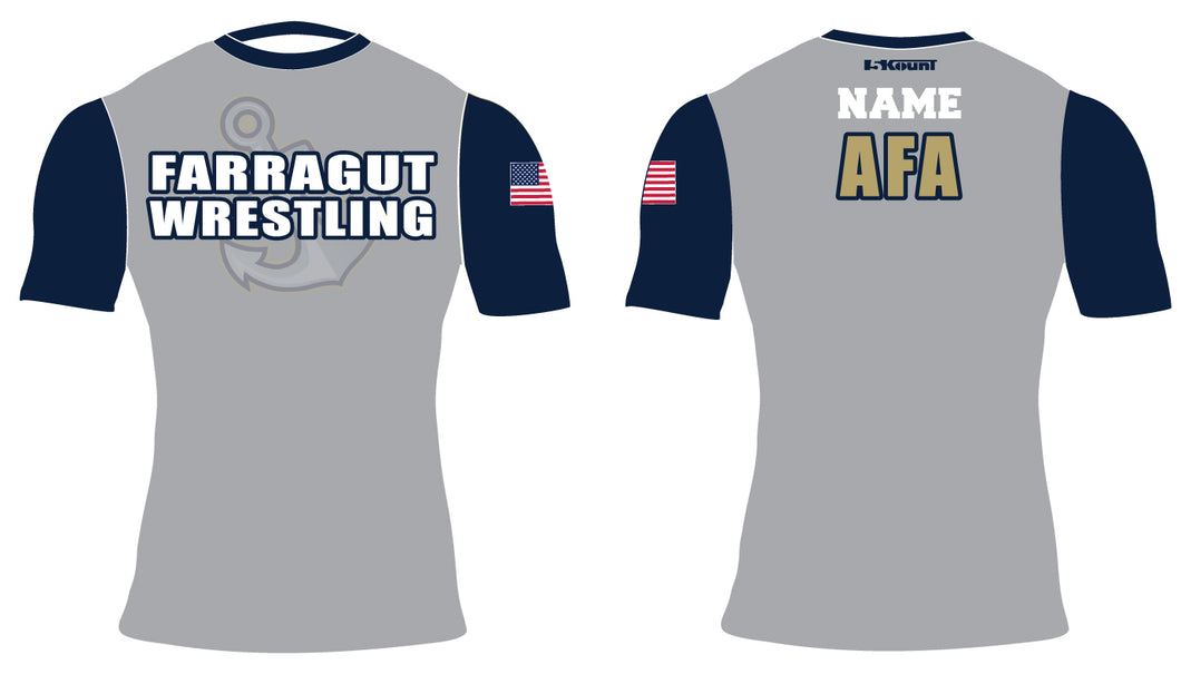 AFA Wrestling Sublimated Compression Shirt