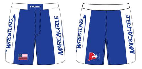MarcAurele Sublimated Fight Shorts - Solid Royal