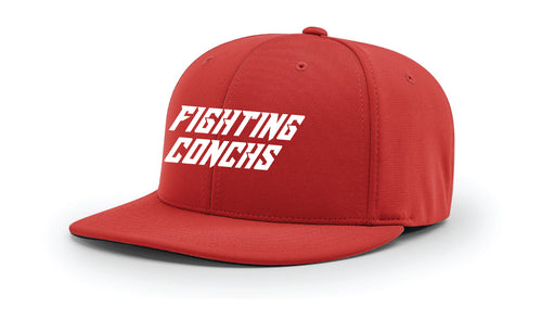 Key West Fighting Conchs Wrestling FlexFit Cap - Red