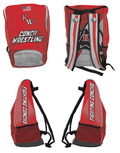 Key West Fighting Conchs Wrestling Sublimated Backpack