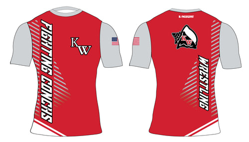 Key West Fighting Conchs Wrestling Sublimated Compression Shirt