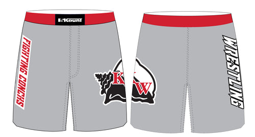 Key West Fighting Conchs Wrestling Sublimated Fight Shorts