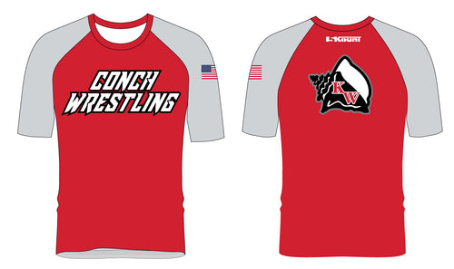 Key West Fighting Conchs Wrestling Sublimated Fight Shirt