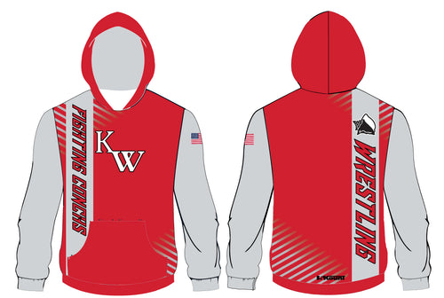 Key West Fighting Conchs Wrestling Sublimated Hoodie