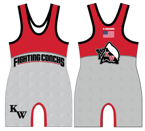 Key West Fighting Conchs Wrestling Sublimated Singlet