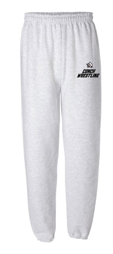 Key West Fighting Conchs Wrestling Cotton Sweatpants - Ash
