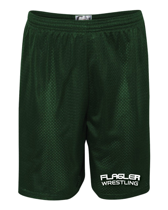 Flagler Palm Coast Tech Shorts - Forest - 5KounT2018
