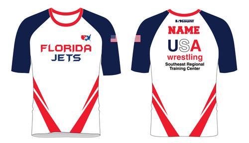 Florida Jets Wrestling Sublimated Fight Shirt - 5KounT2018