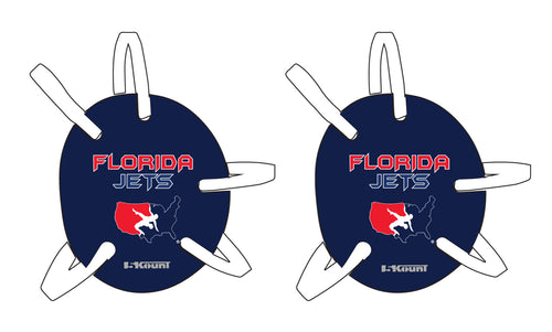 Florida Jets Wrestling Headgear - 5KounT2018