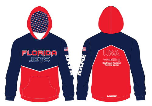Florida Jets Wrestling Sublimated Hoodie - 5KounT2018
