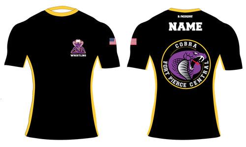 Fort Pierce Cobras Wrestling Sublimated Compression Shirt - 5KounT