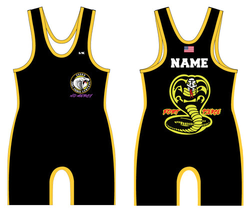 Fort Pierce Cobras Wrestling Sublimated Singlet - 5KounT