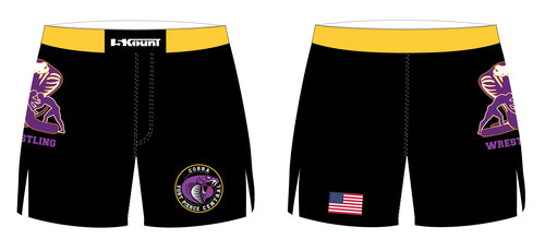 Fort Pierce Cobras Wrestling Sublimated Board Shorts - 5KounT