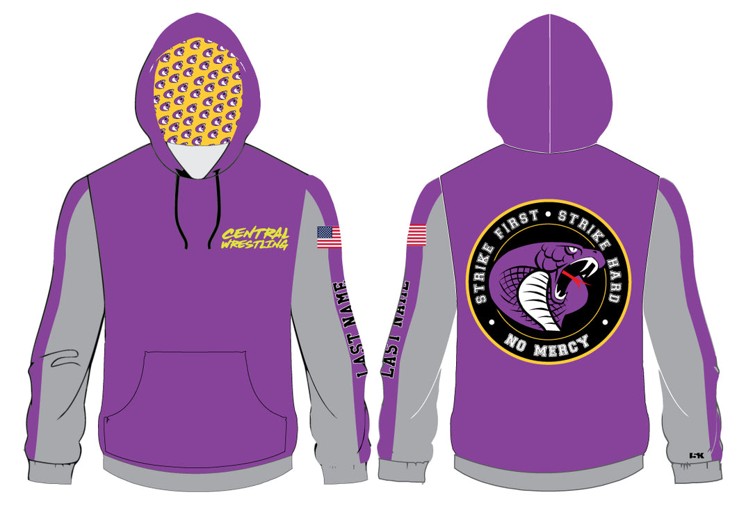 Fort Pierce Central HS Wrestling Sublimated Hoodie
