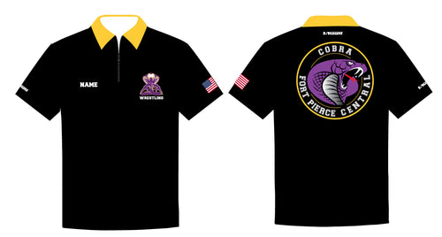 Fort Pierce Cobras Wrestling Sublimated Polo - 5KounT