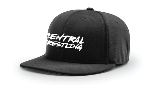 Fort Pierce Cobras Wrestling FlexFit Cap - Black - 5KounT