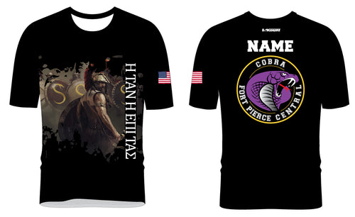 Fort Pierce Cobras Wrestling Sublimated Fight Shirt Design 3 - 5KounT