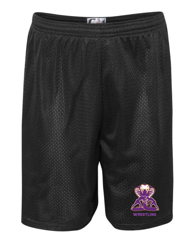 Fort Pierce Cobras Wrestling Tech Shorts - Black - 5KounT