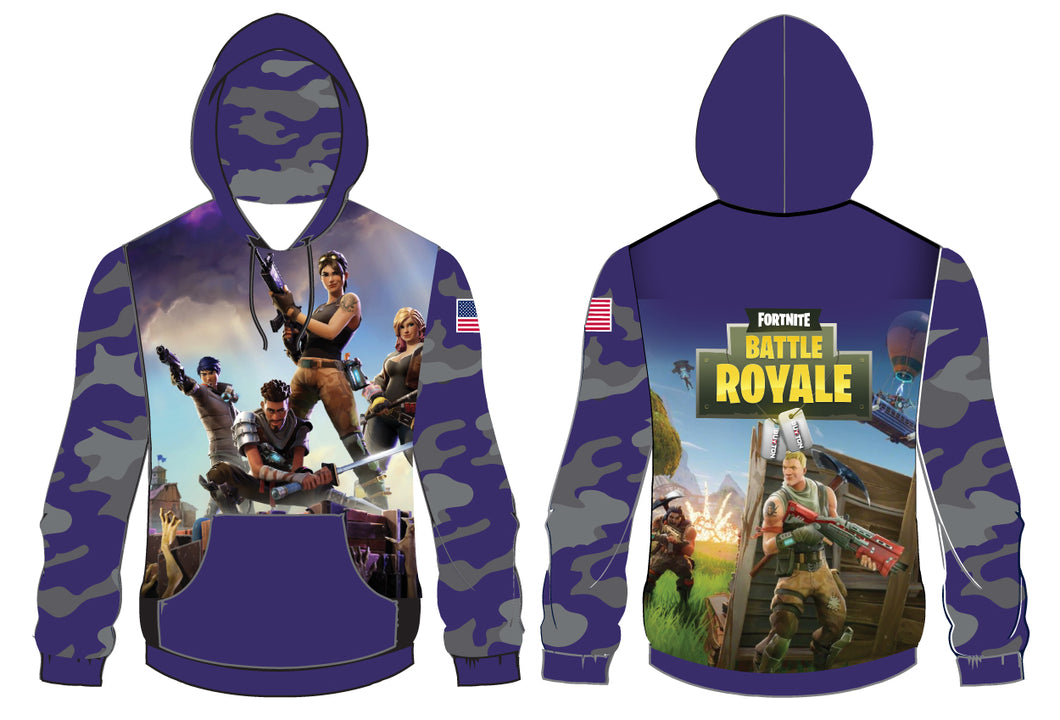 Battle Royal Sublimted Hoodie