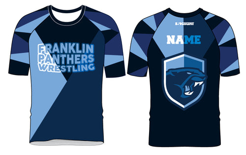 Franklin HS Wrestling Sublimated Fight Shirt