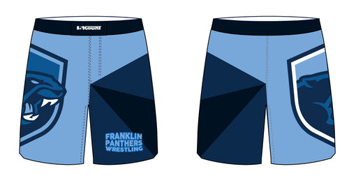 Franklin HS Wrestling Sublimated Fight Shorts