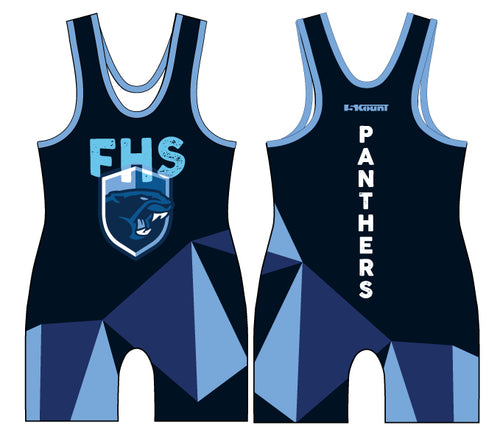 Franklin HS Wrestling Sublimated Singlet