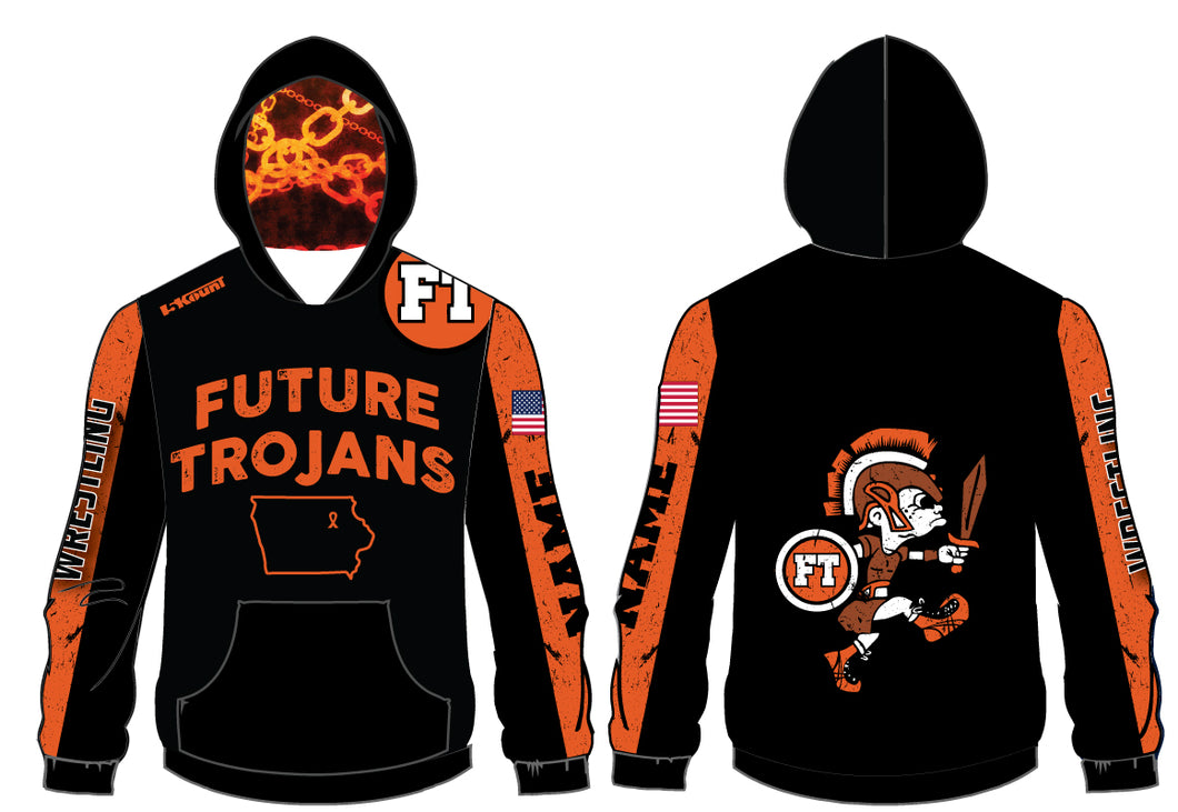 Future Trojans Wrestling Sublimated Hoodie
