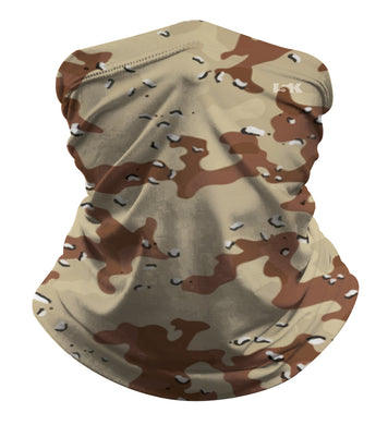 DESERT CAMO SUBLIMATED GAITER MASK - 5KounT2018