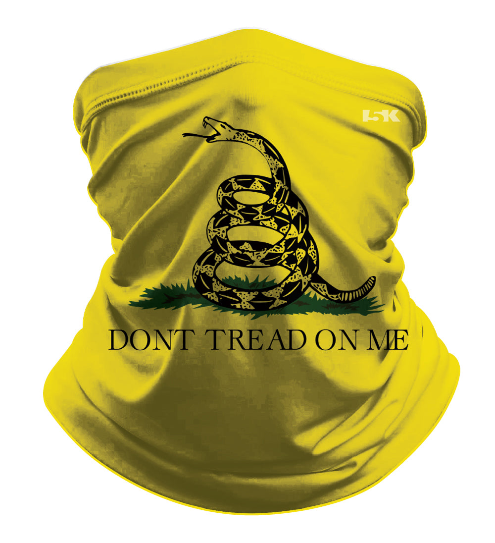 DON'T TREAT ON ME SUBLIMATED GAITER MASK