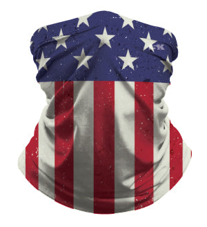 AMERICAN FLAG SUBLIMATED GAITER MASK