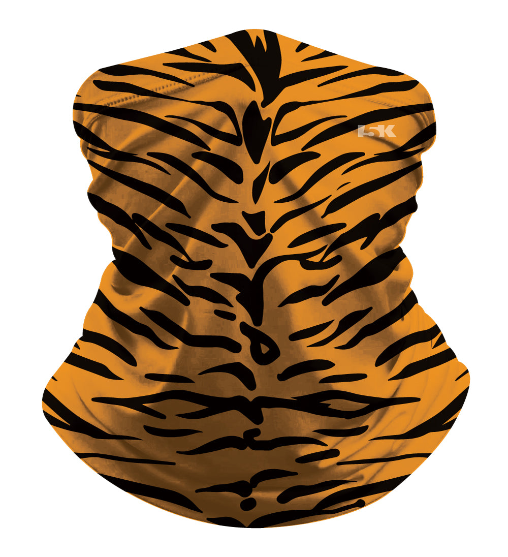 TIGER PRINT GAITER SUBLIMATED GAITER MASK - 5KounT2018