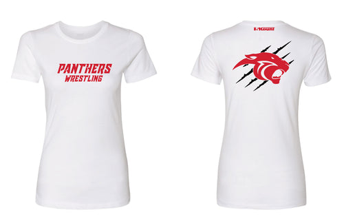 Gateway Panthers Ladies Cotton Crew Tee - white