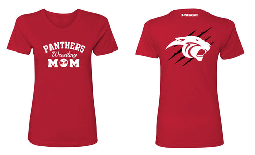Gateway Panthers Mom Cotton Crew Tee - Red