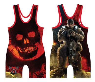 Gears Sublimated Singlet - 5KounT2018