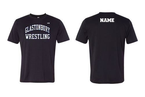 Glastonbury Wrestling DryFit Performance Tee - Black - 5KounT