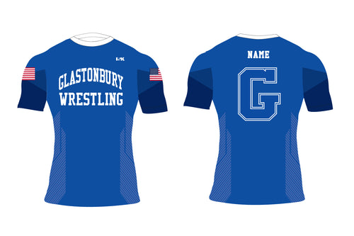 Glastonbury Wrestling Sublimated Compression Shirt - 5KounT