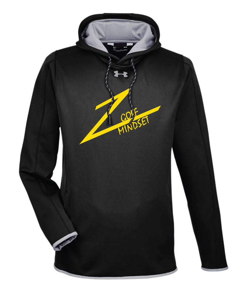 Golf Mindset Under Armour Ladies' Double Threat Armour Fleece Hoodie - Black