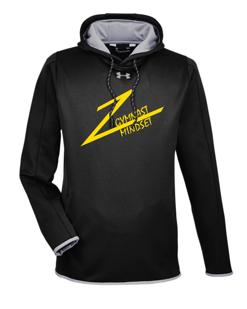 Gymnast Mindset Under Armour Ladies' Double Threat Armour Fleece Hoodie - Black