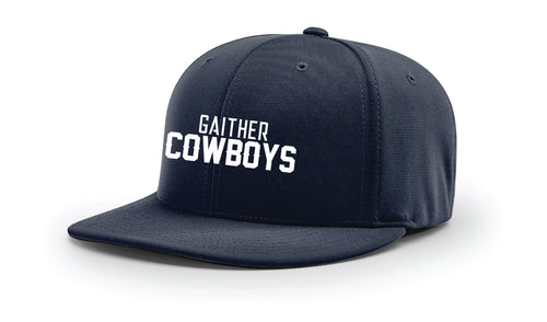 Gaither HS Cowboys Wrestling FlexFit Cap - Navy - 5KounT