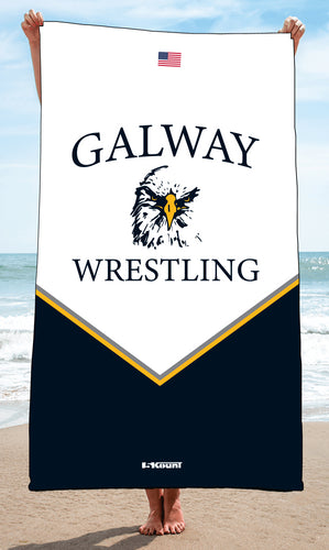 Galway Wrestling Sublimated Beach Towel - 5KounT2018