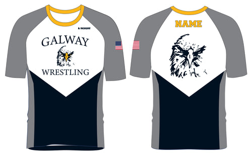 Galway Wrestling Sublimated Fight Shirt - 5KounT2018